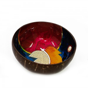 LACQUER SHELL BOWL