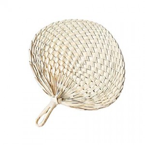 PALM LEAF HAND FAN