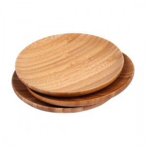 BAMBOO WOOD PLATE