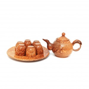 COCONUT TEAPOT SET