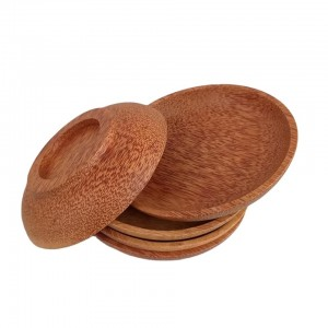 COCONUT WOOD PLATE