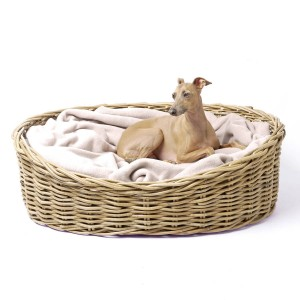 RATTAN PET BASKET